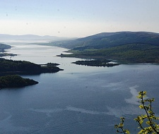 The Kyles of Bute � spectacular views of The Kyles can be enjoyed on the beautiful road between Sandbank and Tighnabruaich. 45 minutes from Feorag Lodge
