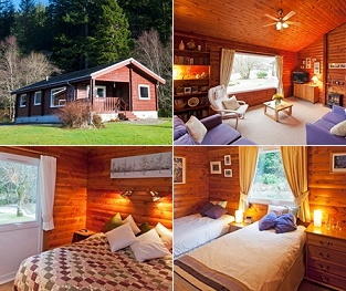 Feòrag Lodge holiday cabin in the Cowal Peninsula